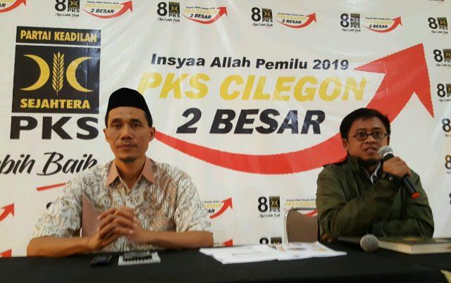 Klaim Masuk Tiga Besar di Pileg Cilegon, PKS 'Lirik' Kursi Pimpinan DPRD
